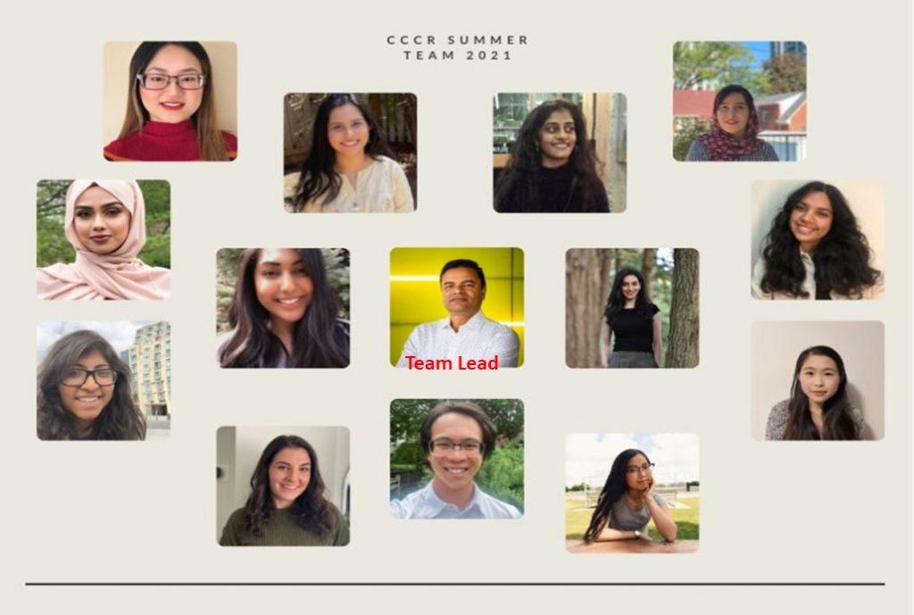 Summer program research team 2021